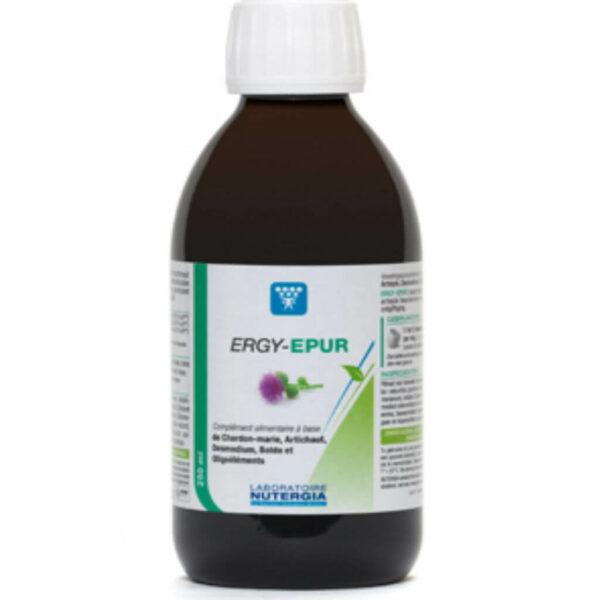 Ergyepur 250 ml Depuracion y Drenaje Nutergia - Herbolario Larrea
