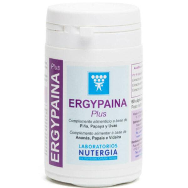 Ergypaina Plus 60comp Antienvejecimiento Nutergia - Herbolario Larrea